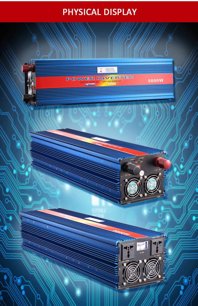 5000 Watt Ups Inverter Circuit Diagram Dc Ac Inverters Transformer 12v Converter Product Description