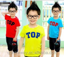 2015 new fashion go kart kid suit