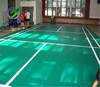 High resilience sport indoor badminton court flooring