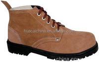 Genuine Leather Working Safety Footwear