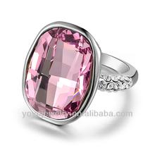 2014 big stone design 18k gold finger ring