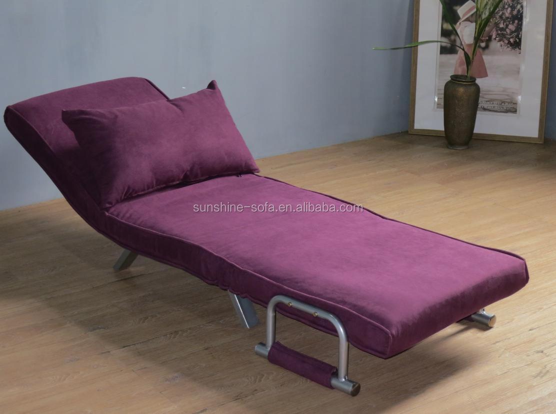 wholesale full steel structure futon sofa sleeper. Black Bedroom Furniture Sets. Home Design Ideas