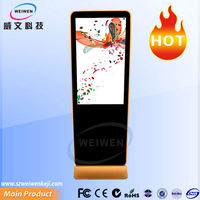 popular Iphone style led 42 inch screen advertising digital wifi media advertising player