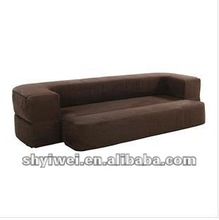 Folding lazy sofa Multi-functional fabric sofa Living room leisure sofa