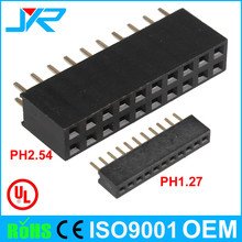 Audio & Video Application and Female Gender pin header 1.27mm single row male female header 11 pin connector