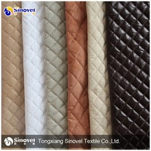 Wholesale Quilting Suede Fabric/Suede Leather for Sofa/Jacket/Home Textile/Mattress