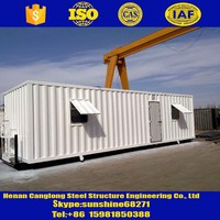 High quality light steel small house plans