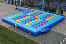Giant inflatable twister game, inflatable twister bed for sale