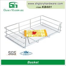 china cocina cesta de alambre cajón