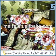 Hot selling Beautiful comfortable famous brand bedding set