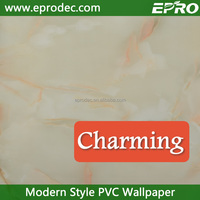 Anti-static colors customized wallpaper decoration for room decoration
