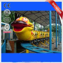 blue worm roller coaster mini roller coaster for sale