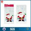 Santa Christmas Cellophane Bag,20 ct santa claus cello bag