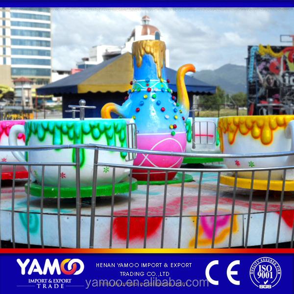 Alibaba Top Quality Funfair Tea Cup Rides/ Amusement Park