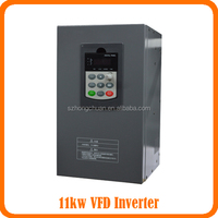 CE approced Variable ac frequency inverter 11KW 50/60HZ /VFD 11KW/11KW Frequency Inverter