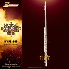OEM open hole design flute, 16keys and silver coating