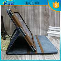 Popular design western cowboy leather case for the new ipad