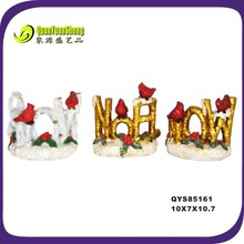 creative polyresin bird decoration/gift/polyresin craft/polyresin bird animal