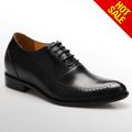 Negro dedo del pie puntiagudo zapatos para hombres 2014/2015