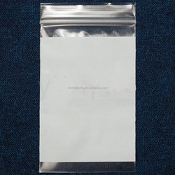 Eco-friendly biodegradable waterproof packing bag mini plastic ziplock bags