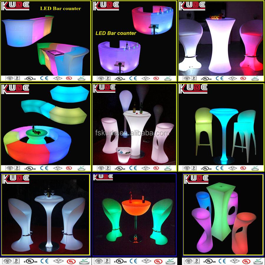 rechangeble красочным красивые светодиодные панели и пластиковых ведро вина льда
