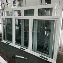 Australia popular standard design aluminium french awning windows and doors