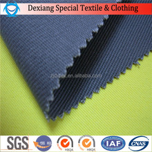 DX high qualily100% cotton fireproof antifire fleece fabric and water repellent fabric coal and oil worker
