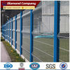 lowest price galvanized and powder coat welded wire mesh fence panel