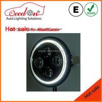Qeedon fashion emark dot sealed beam for mini cooper s car fuel tank cover
