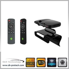 Mini Android 4.2 satellite dish Google smart TV Box dual mic for skype 1G/8G Allwinner A20 with 5.0MP camera
