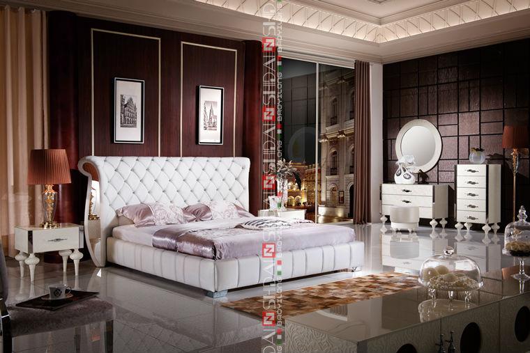 Clásico juego de dormitorio / conjunto de muebles de dormitorio ...