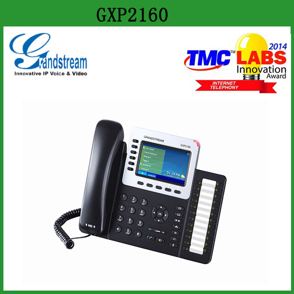 Low cost sip phone grandstream gxp2160 home office hotel Sips price