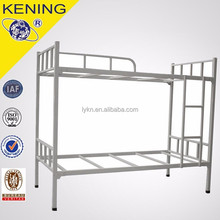 Metal material double-layer metal bunk bed