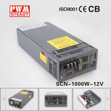 CE approved 1000w switching power supply SCN-1000-12