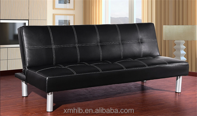 Modern cheap leather sofa bed modern sofa bed double deck for Cheap double deck bed