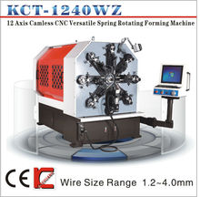 KCT-1240WZ 12 Axis Camless CNC Versatile Spring Rotating Forming Machine&double-wire forming machine