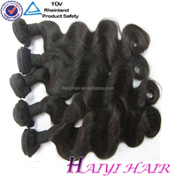 24'' Body Wave Natural Black Virgin Remy Hot Sale Express Hair Extension Machine