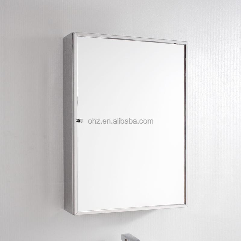 현대적인 호텔 디자인 사용 스테인레스 스틸 욕실 화장실 거울 ...