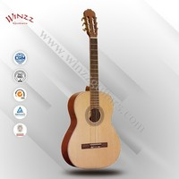 [Winzz] Wolesale 39 InchSpruce Plywood Sapeli Rosewood Classic Guitar (AC48)