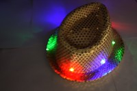 Flashing RGB LED Cap