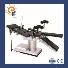 hydraulic manual operating table,hospital operating table,stainless steel surgical instrument table
