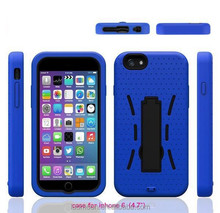 Stand Function Robot Mobile Phone Case Cover for S6