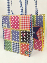 Colorful non woven tote bag/shopping recycle bag
