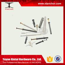 wall plug/Plastic/nylon hammer fixing anchor alibaba website toys