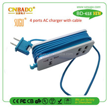 Super fast universal cell phone charger parts