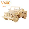 Por control remoto de coches de madera coche de juguete de bricolaje