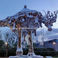 316 stainless steel sculpture,contemporary art sculpture