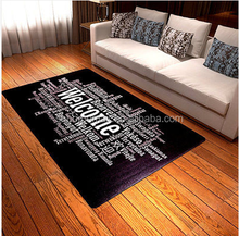 "The Large 62.9""x39.3"" Area Carpet Rectangle Welcome Languages Carpet"
