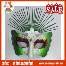 Factory customized Butterfly painting masks Plastic party mask