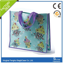 eco-friendly and cheapest pvc china wholesale shiny shopping bag